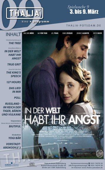 3. bis 9. März - Thalia Kino