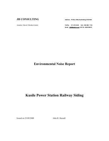 Appendix L7 - Noise Report .pdf - Zitholele.co.za