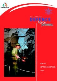 ISSUE 156 : Sep/Oct - 2002 - Australian Defence Force Journal