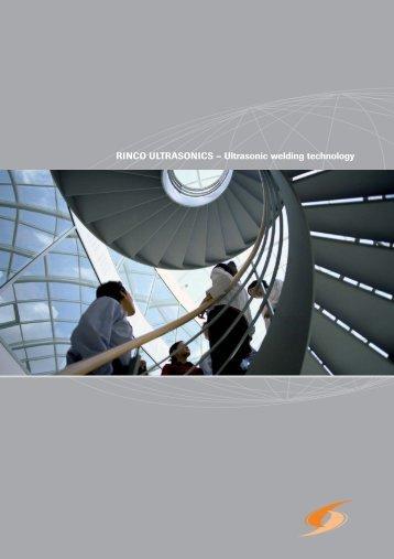 RINCO ULTRASONICS – Ultrasonic welding technology