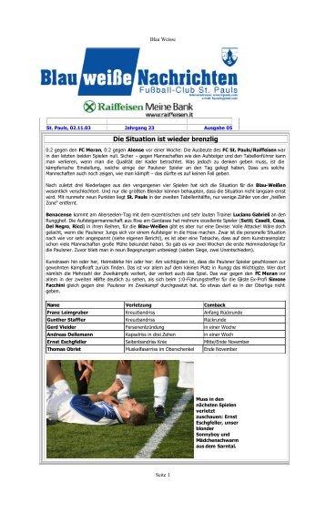bw2003-04-05.pdf (319.3 KB) - AFC St. Pauls
