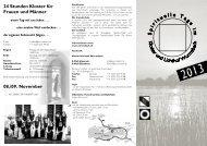 Flyer mit Angeboten der Schwestern und 24 Stunden Kloster pdf