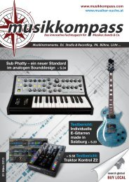 musikkompass - x-technik