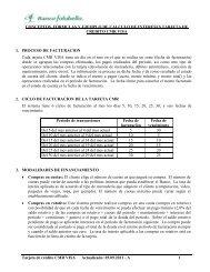 Tarjeta CMR Visa - Banco Falabella
