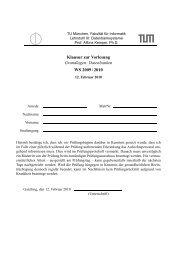 Klausur zur Vorlesung Grundlagen: Datenbanken WS 2009 / 2010