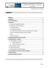 Studio di fattibilità - Centro CISA