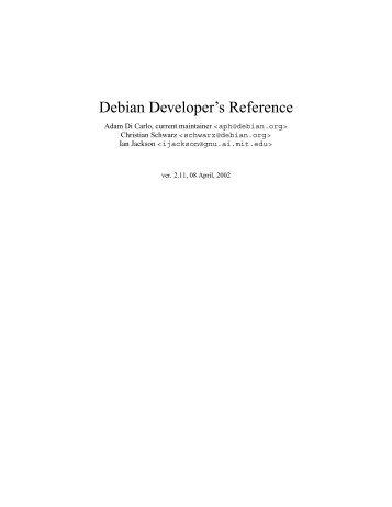 DEBIAN REFERENCE OSAMU AOKI EBOOK DOWNLOAD