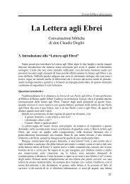 03) Introduzione alla lettera agli Ebrei - Symbolon.net