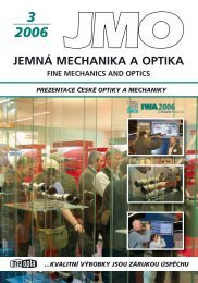 « ª¨¨® - Jemná mechanika a optika