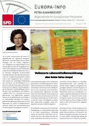 Infobrief Ausgabe 6 - 2010 - Petra Kammerevert