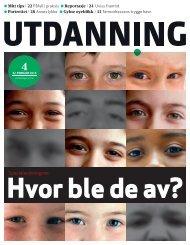Utdanning nummer 04 2013 - Utdanningsnytt.no