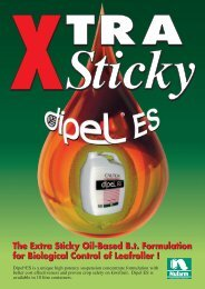 The Extra Sticky Oil-Based Bt Formulation f - Pest Genie