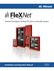LT-894 FleX-Net Installation Manual - Mircom
