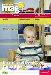 Palaiseau mag' n°153 - Mars 2011 - Ville de Palaiseau