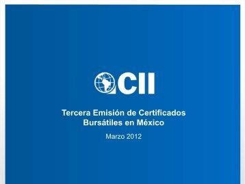 2012 Presentación a inversionistas - México