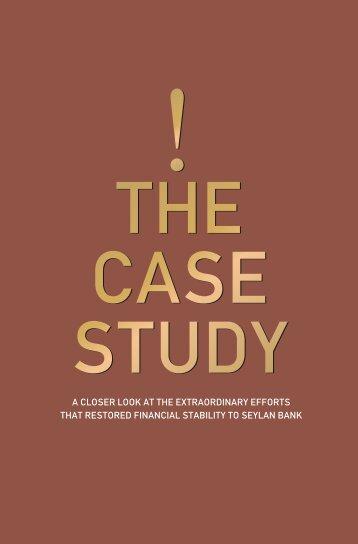 The Case Study - Seylan Bank