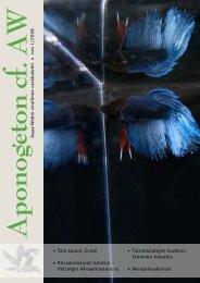 Aponogeton cf. AW 1/2008 - Aqua-Web