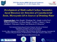 Development of Multi-walled Carbon Nanotubes ... - Ohiowater.org