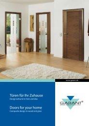Türen für Ihr Zuhause Doors for your home