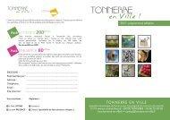 TONNERRE - (CCI) de l'Yonne