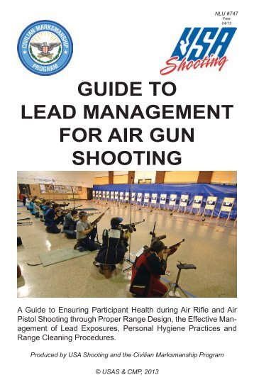 Guide to Lead Management for Air Gun Shooting