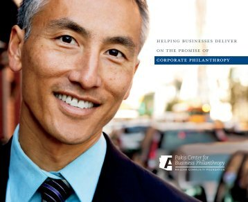 Pakis Center for Business Philanthropy Brochure - Arizona ...