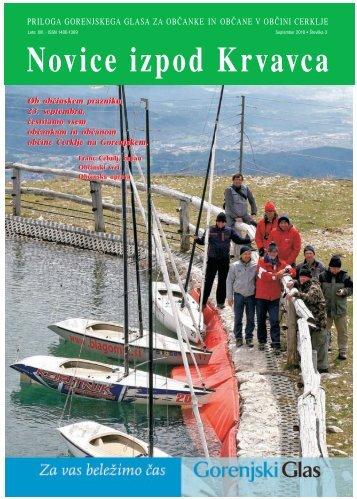 Številka 3, September 2010 - Cerklje.si