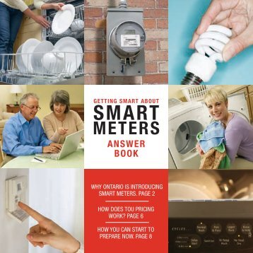 Smart Meter Answer Book - Oakville Hydro!