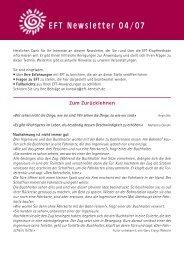 Die Eft-Kinderecke - Horst Benesch