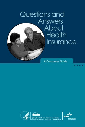 Questions and Answers About Health Insurance - AHRQ Archive ...