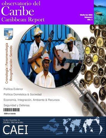 Observatorio del Caribe, Nº2, Otoño Sur 2010 - CAEI