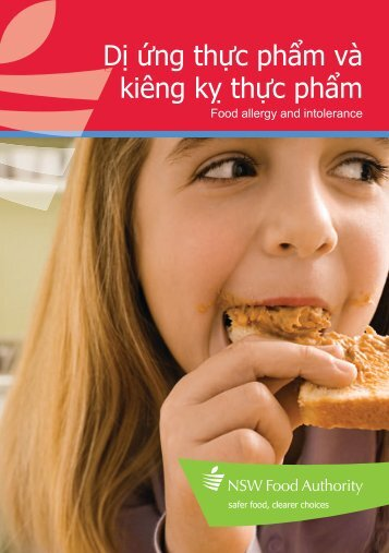 Brochure | Food allergies (Vietnamese) - NSW Food Authority