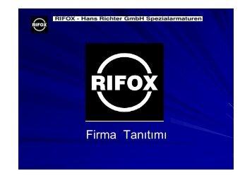 RIFOX Sunum