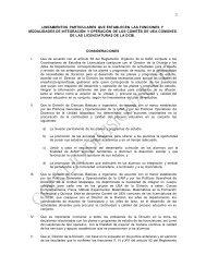 lineamientos particulares que establecen las funciones ... - CBI - UAM
