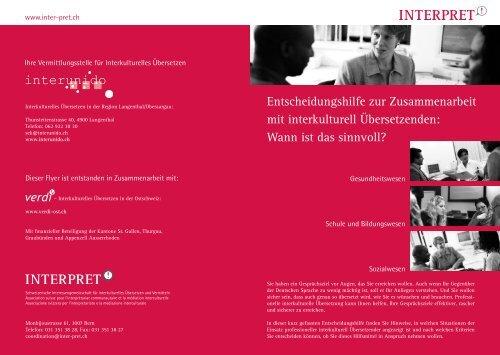 Merkblatt Kriterien - interunido