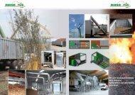 Mit dem Schubwendetrockner wird Biomasse wirtschaftlich und - Riela
