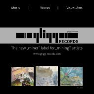 Art and mining - gligg records