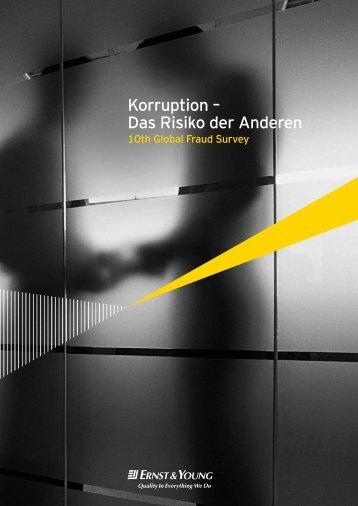Korruption – Das Risiko der Anderen - ICC Deutschland