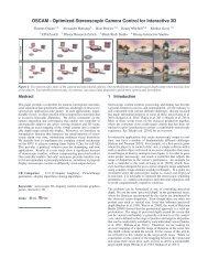 OSCAM - Optimized Stereoscopic Camera Control for Interactive 3D