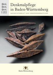 2012 - Denkmalpflege Baden-Württemberg