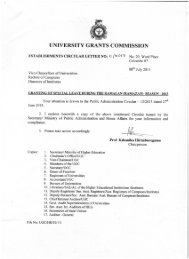 Est. Circular 11_2013.pdf - University Grants Commission - Sri Lanka