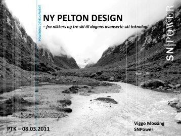 Ny Pelton Design – fra nikkers og tre ski til dagens ... - Energi Norge