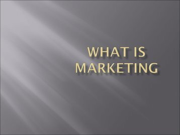 Marketing strategy tools models - Sfu-kras