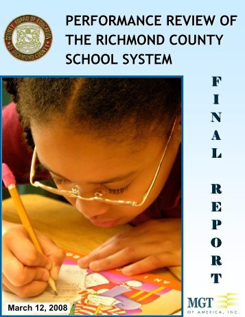 performance review of the richmond county school system