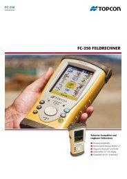 FC-250 FeldreChner - Topcon Positioning