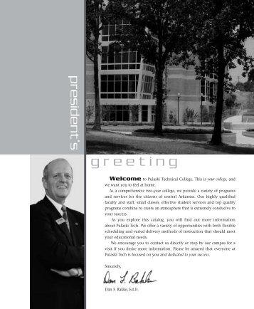 Academic Catalog 2003-2004 (PDF) - Pulaski Technical College