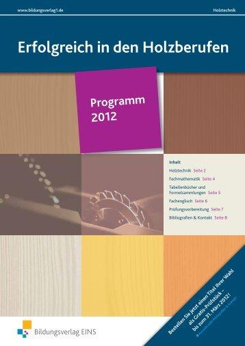 erfolgreich bestehen - Bildungsverlag EINS