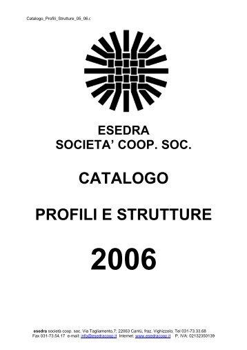CATALOGO PROFILI E STRUTTURE - Esedra ENERGIA