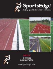 PRO-S Standard Channel Drain - SportsEdge