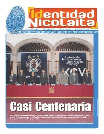 La Universidad Michoacana de San Nicolás de Hidalgo cumplió 95 ...